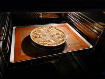 Cuire 35 - 45 min à 175°C environ. Faire pivoter la plaque à mi cuisson.