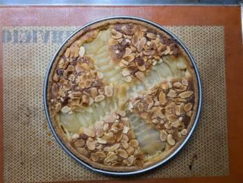 Laisser refroidir votre tarte bourdaloue, décercler.
