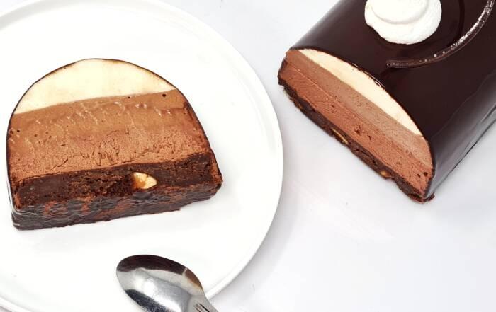 Buche 3 chocolat