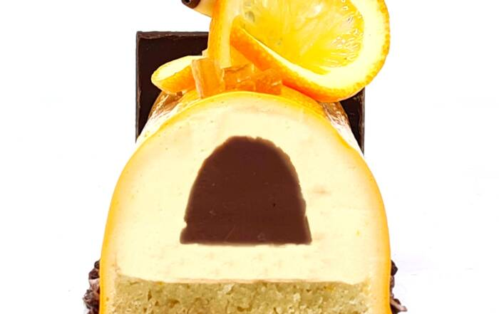 Bûche Chocolat Orange