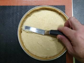 Lisser pour obtenir une épaisseur de 6 mm environ